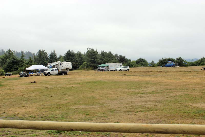 Hobuck Beach Camping Area