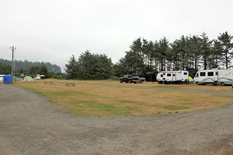 Hobuck Beach Camping Area 3