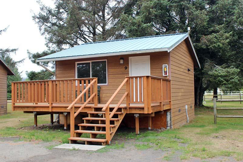 Exterior North Cabin